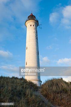 Denmark, Jutland, Danish Riviera, Hvide Sande, Lyngvig Fyr... #norrelyngvig: Denmark, Jutland, Danish Riviera, Hvide Sande,… #norrelyngvig