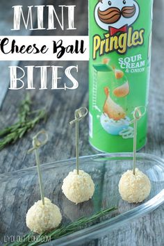 Mini cheese ball bites are perfect for parties - portable and delicious!