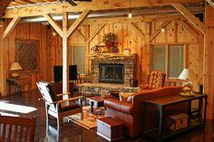 Beam Barn living room