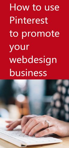 How to Use Pinterest to Promote Your Webdesign Business Social Media Site, Being Used, Business Ideas, Promotion, Web Design, Success, Website Designs, Site Design
