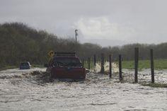 Mad River flood, Arcata, CA.  12/02/12