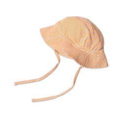 Candy Striped Sun Hat