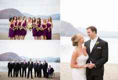 Groomsmen | Bridesmaids | Purple | Brant Lake | Adirondack Wedding | Fall Wedding | Bride & Groom | Love © Matt Ramos Photography