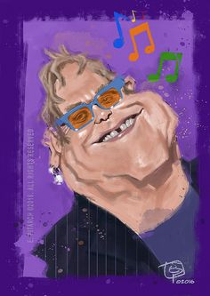 The great Elton John. E. Pitarch © 2016. All right reserved.