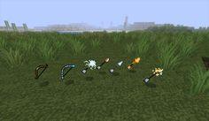 Elemental Arrows Mod para Minecraft 1.2.5