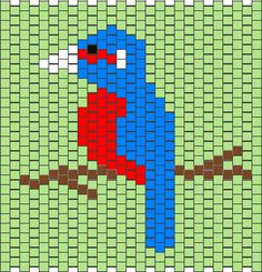 bird | Peyote Patterns (49)