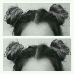 Space buns                                                                                                                                                                                 More