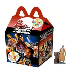 """""""Dawn of the Dead"""" Happy Meal Toy"""