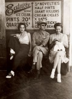1940s- I wear the same outfit on the left at almost every summer reenactment. And people love to say women didn't dress that way.... HAH!