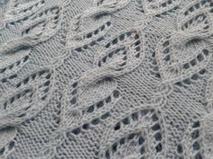 """""""A child is love made visible."""" The pattern is available on Ravelry. On the list for the future: a cowl pattern (with shaping) and shawl designs in different shapes in my Cabled Lace stitch pattern..."""