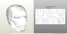 7   Editing Pepakura Files For Use With Foam For My Iron Man Suit   YouTube  | Foam Pepakura Iron Man Tutorial | Pinterest | Pepakura Files, ...