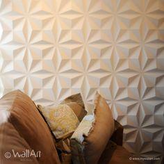 WallArt 3D Veggpaneler - moderne og dekorativt design til ditt interiør