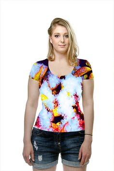 By Sunny Tipton. All Over Printed Art Fashion T-Shirt by OArtTee