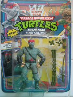 Teenage Mutant Ninja Turtles TMNT MOC 1992 MOVIE STAR FOOT SOLDIER