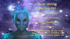 THE STAR RACES - BLUE AVIAN