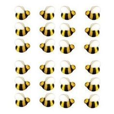 Bumble Bee 45222-2 Cake Dec-Ons Decorations 24 Pack [Misc.]