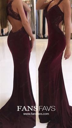 Mermaid Formal Dresses Long, Burgundy Prom Dresses for Teens, Open Back Military Ball Dresses Lace, Jersey Pageant Graduation Party Dresses V-neck Modest Formal Dresses, Open Back Prom Dresses, Formal Dresses For Teens, Cheap Evening Dresses, Designer Evening Dresses, Mermaid Prom Dresses, Long Bridesmaid Dresses, Military Ball Dresses, Prom Dress Shopping