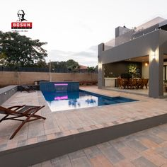 Bosun pool paving offers modern, light colours that creates a cool surface to walk on with bare feet. Our concrete pavers can be used in conjunction with various styles and types of pool copings, but are most popular around modern, rectangular swimming pools. Pool Paving, Concrete Pavers, Light Colors, Colours, Paving Ideas, Modern Pools, Pool Designs, Swimming Pools, Surface