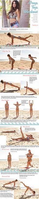 Tone-It-Up-Crop-Top-Workout-toneitup by toneitup, via Flickr