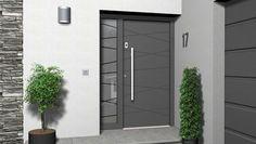 22 Modern Door Design Ideas - Local Home US - Home Improvement Modern Front Door, Front Door Design, Entrance Design, Modern Door Design, Front Entry, Main Entrance Door, House Entrance, Entry Doors, Main Door