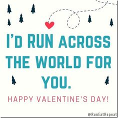 Hi! How's it going? Valentine's Day is just a few days away! Let me give you a little life hack = save money and skip buying a card. Save one of the Valentine's for Runners below. Post it to Instagram
