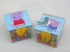 20 Caixinhas Acrílicas George Pig-Cortes para Montar www.petilola.com.br