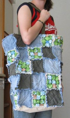 EarthFriendly Upcycled Clothing Reusable Rag by FrayedFuzzies, $35.00
