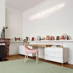 Image result for steel oak desk