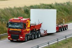 Sondertransport durch Europa mit RachPOWER.at - Ihrem Sondertransport - Spezialisten