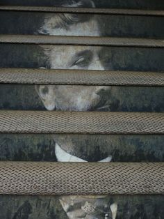 I think I really love the idea of art painted on Stairs