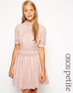 <3 Love: ASOS Skater Dress with cut out back and lace