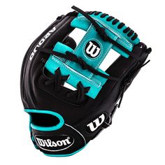 Black//Blonde//Tropical Blue WILSON Mens 2018 A2000 DP15 SS 11.5 Infield Baseball Glove-Right Hand Throw