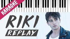 Riccardo Marcuzzo (RIKI)   Replay   AMICI 16   Piano Karaoke con Testo