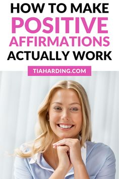 How to make positive affirmations actually work! Positive Mindset, Positive Life, Positive Thoughts, Confidence Boosters, Confidence Tips, Positive Affirmations Quotes, Affirmation Quotes, Feeling Depressed, Feeling Happy