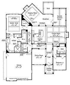 Home plans with keeping rooms home design and style for House plans with keeping rooms
