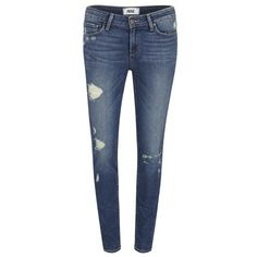 Paige Women's Verdugo Ultra Skinny Jeans with Caballo Inseam Danica -... ($190) ❤ liked on Polyvore