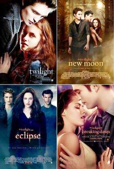 All of The Twilight Saga films.
