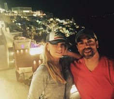 Photo gallery: Eddie And Tamra Judge Take Belated Honeymoon To Mykonos and Santorini, Greece, share views with their Real Housewives of Orange County fans