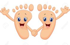 Happy Smile Toes Cartoon Royalty Free Cliparts, Vectors, And Stock Illustration. Baby Massage, Massage Logo, Reflexology Massage, Massage Marketing, Podiatry, Art Drawings For Kids, Baby Care Tips, Manicure E Pedicure, Banner Printing
