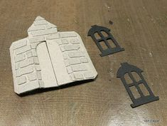 Haunted Manor Created With Tim Holtz Sizzix Dies Tim Holtz