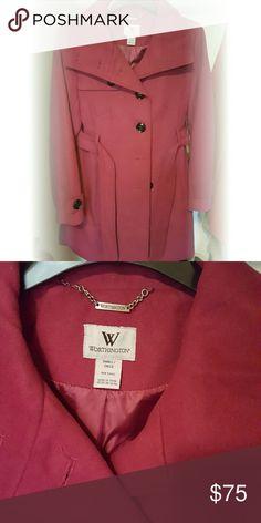 Fuschia Worthington Blazer Brand new! Never worn. Beautiful  fuschia pink purple looking blazer that's perfect for the winter. Look stylish and feel warm at the same time! Original price was $200. Worthington Jackets & Coats Blazers