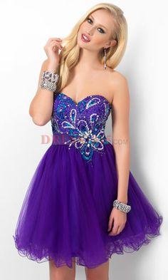 Bridesmaid dresses : wedding blue bridesmaid dress purple French ...