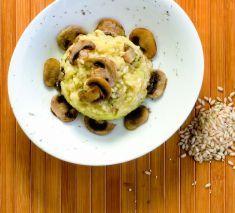 Riso integrale con funghi, cavolfiore e zafferano - Tutte le ricette dalla A alla Z - Cucina Naturale - Ricette, Menu, Diete