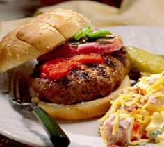 StufZ Presents: Jalapeño-Stuffed Burgers