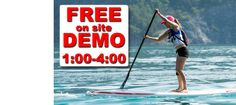 Free SUP Demo! Where? Bobcaygeon Kawartha Lakes #Ontario July 26 1-4 Come find out What's up with SUP! at the Buckeye Surf N Snow Truck load sale!