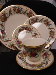 """Lenox """"Holiday Tartan""""  Of all the holiday china, this is my favorite. I was able to purchase a service for 12 when the nearby Lenox outlet went out of business. What a steal!"""