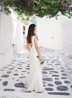 Breathtaking blue and white wedding inspiration in Mykonos - Love4Wed