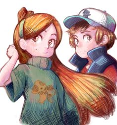 Who looks better me or dipper