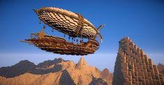 Centurious Class Airship Minecraft World Save