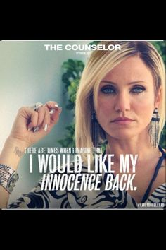 The Counselor - Cameron Diaz. Thinking about getting those silver nails :)